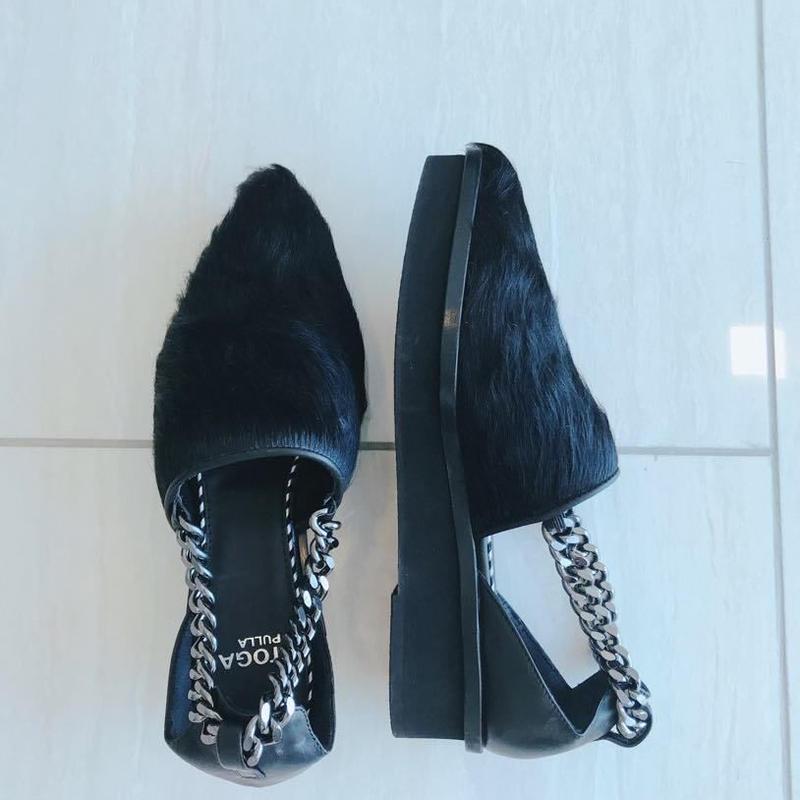 Fur Sandal[BLACK] Japan