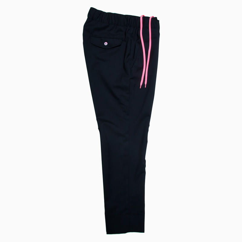 TROPICAL WOOL EASY PANTS / DARK NAVY