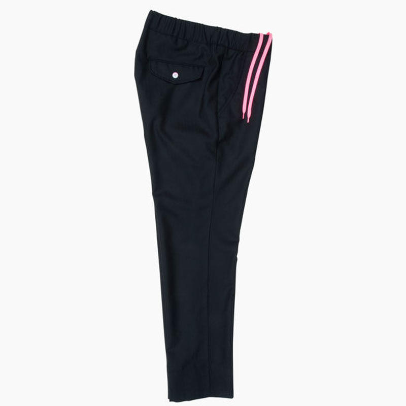 FISHBONE EASY PANTS / BLACK