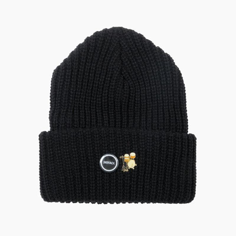 KNIT CAP / BLACK