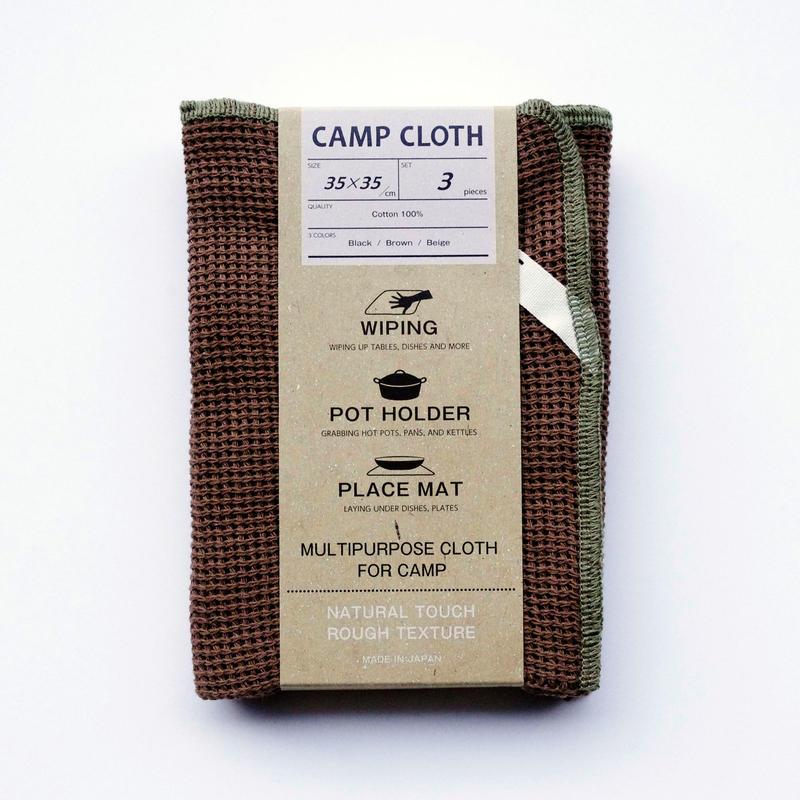キャンプ  クロス  / ( 3 枚セット)