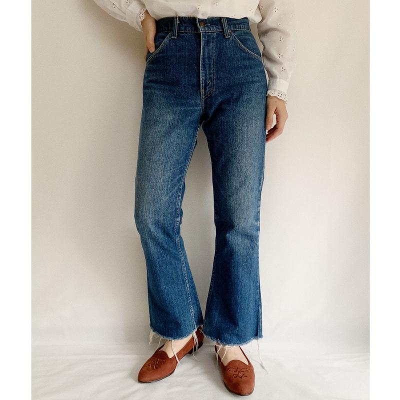 70's - 80's USA Levi's Orange Tab 517 Denim Pants