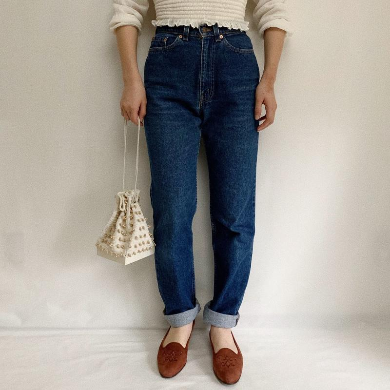 80's - 90's USA Levi's  High Waist Denim  Pants