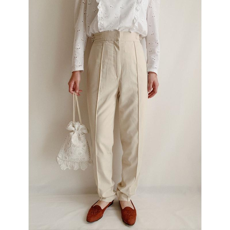 Euro Vintage Center Pressed Pants