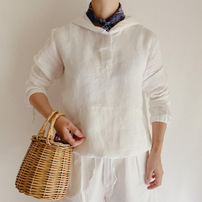 Euro Vintage Linen Pullover and Hoodie