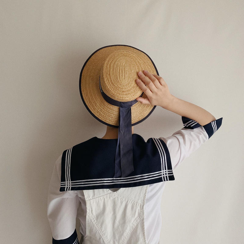 Euro Vintage Sailor Collar Shirt