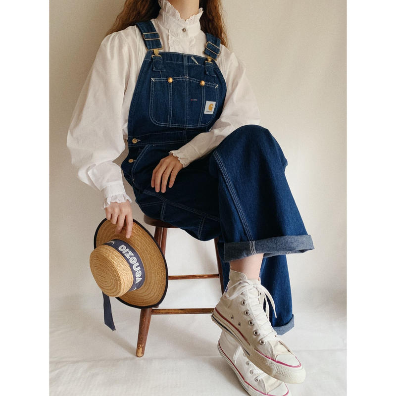 "80's - 90's USA ""Carhartt"" Denim Overall"