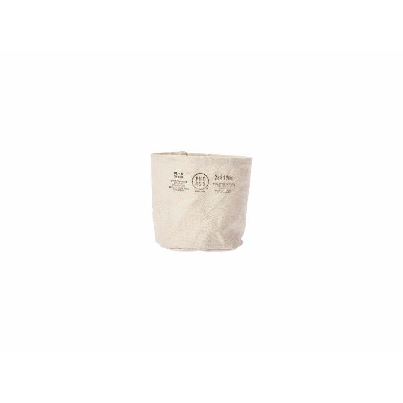 CANVAS POT COVER WHITE〈S〉