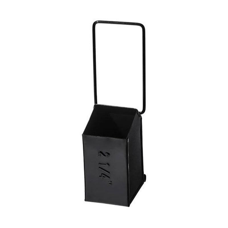 HANGING TOOL STORAGE BOX〈NARROW BLACK〉