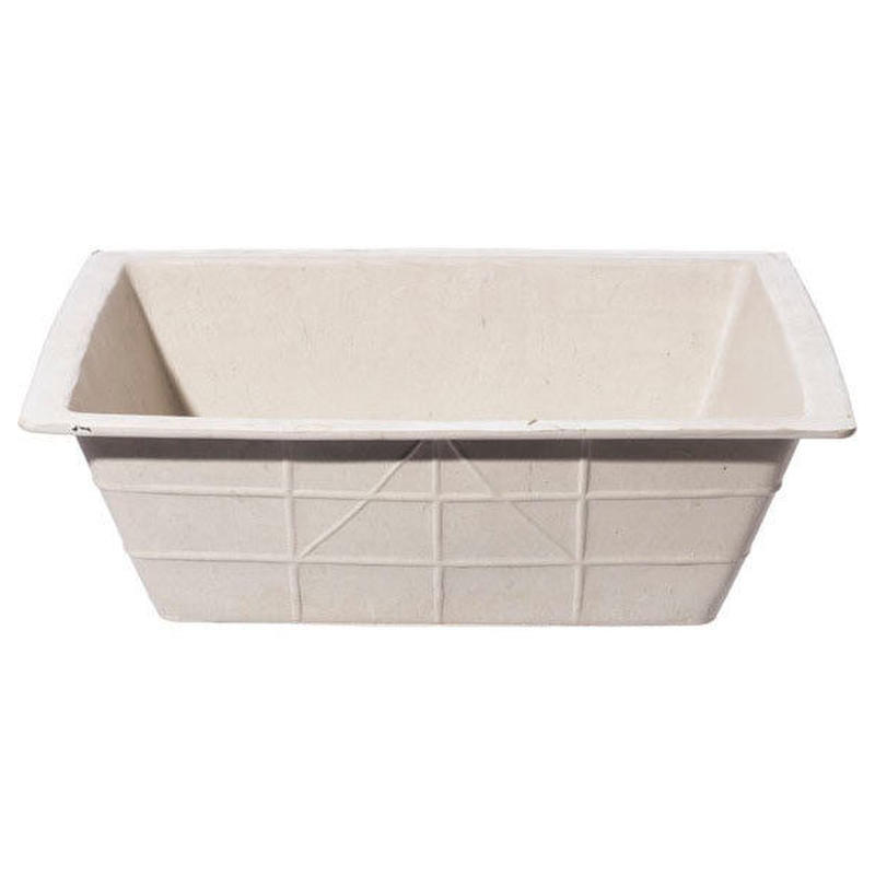 RECYCLED SOLE RUBBER BUCKET 〈RECTANGLE〉
