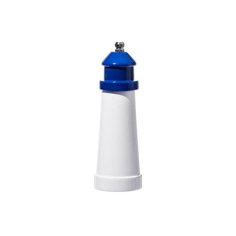 LIGHTHOUSE SHAPED SALT & PEPPER MILL Blue〈6〉