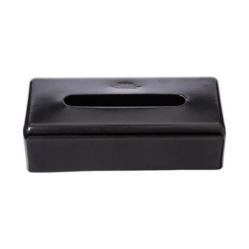 PLAIN TISSUE BOX〈BLACK〉
