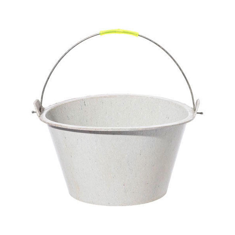 RECYCLED SOLE RUBBER BUCKET 〈ROUND〉