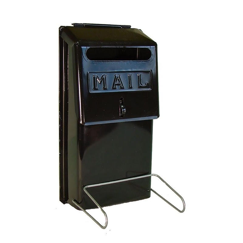 ECONOMY VERTICAL WALL MOUNT MAILBOX - FRONT SLOT