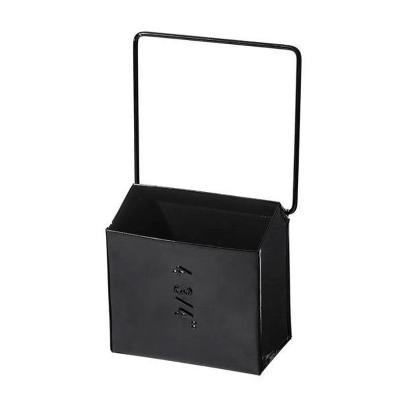 HANGING TOOL STORAGE BOX〈WIDE BLACK〉