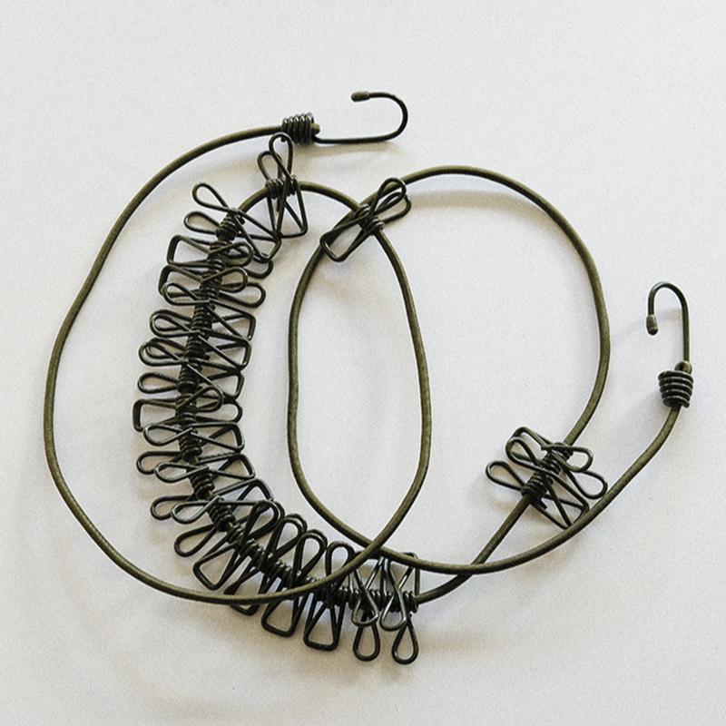 OLIVE DRAB 物干しロープ〈2M〉