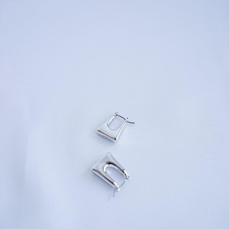 square silver colour Pierce