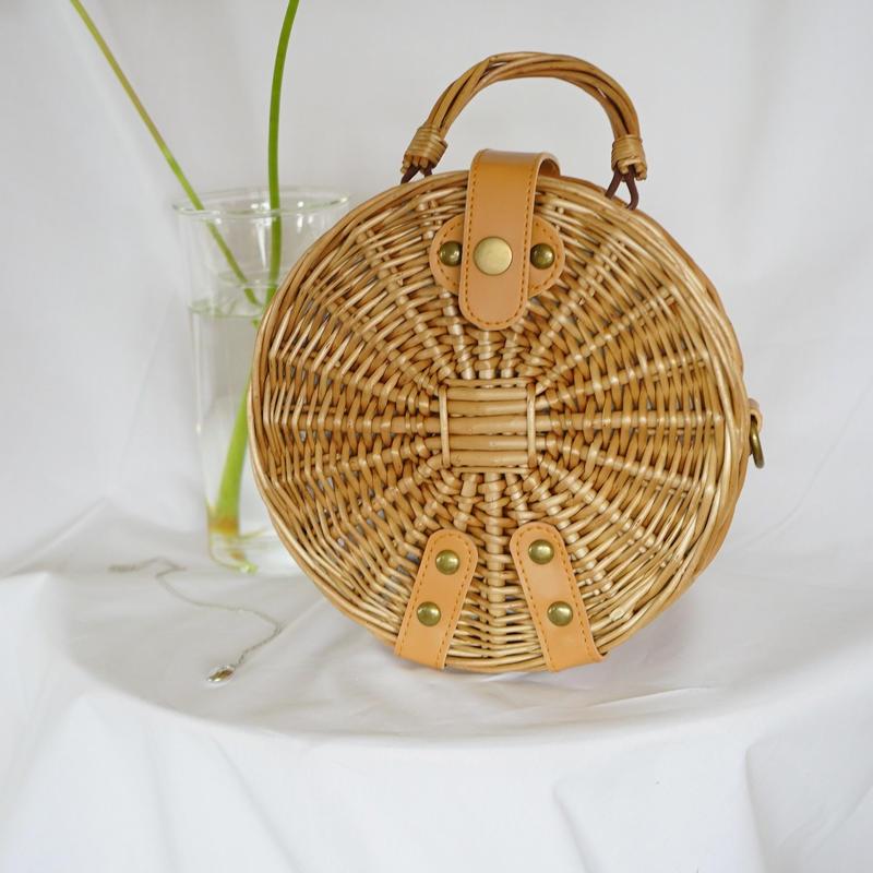 circle Basket bag