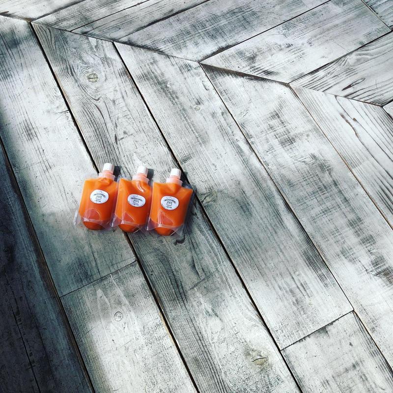 《冷凍5本SET》carrot orange 250ml × 5本