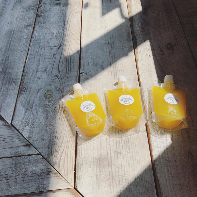 《冷凍5本SET》chia coco yellow 250ml × 5本