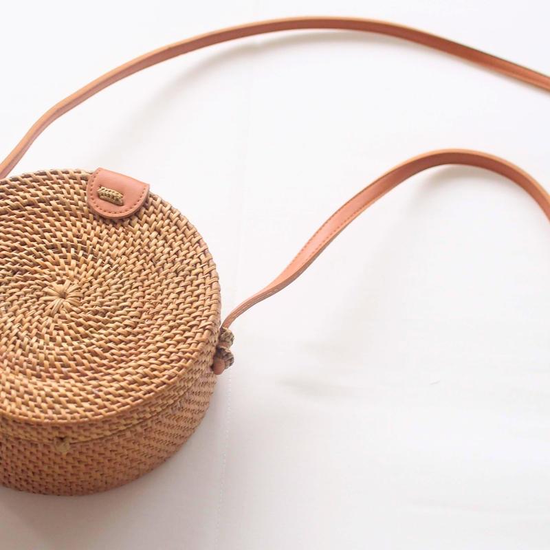 丸かごポシェット(オリジナル生地) ミニ