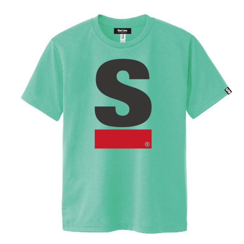 【残り1点】Big S Active T-shirt/ビッグエスアクティブTシャツ(Green/グリーン)  ウィメンズ限定カラー