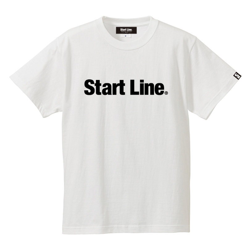 Start Line Standard T-shirt/スタンダードTシャツ(White/ホワイト)