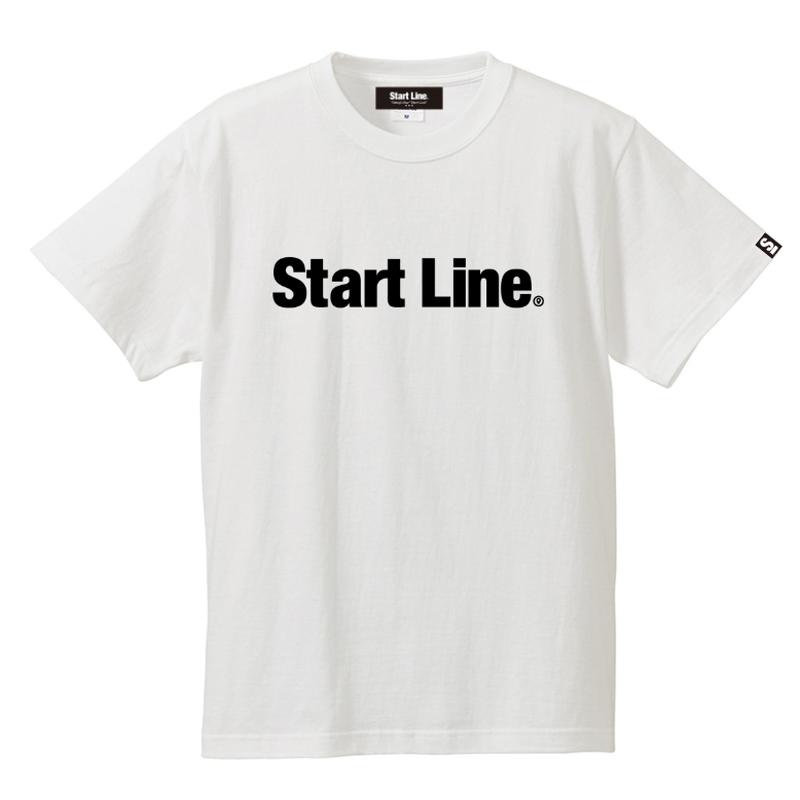【S残り2点】StartLine Standard T-shirt/スタンダードTシャツ(White/ホワイト)