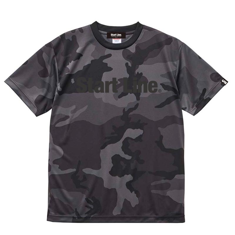 【M残り1点】Black Camo Active T-shirt/ブラックカモアクティブTシャツ