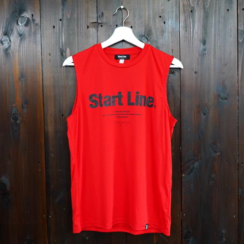 【残り3点】World Marathon City No-sleeve/ワールドマラソンシティーノースリ(Red/レッド)