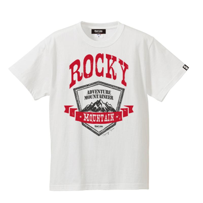 ROCKY MOUNTAIN Active T-shirt/ロッキーマウンテンTシャツ(White/ホワイト)