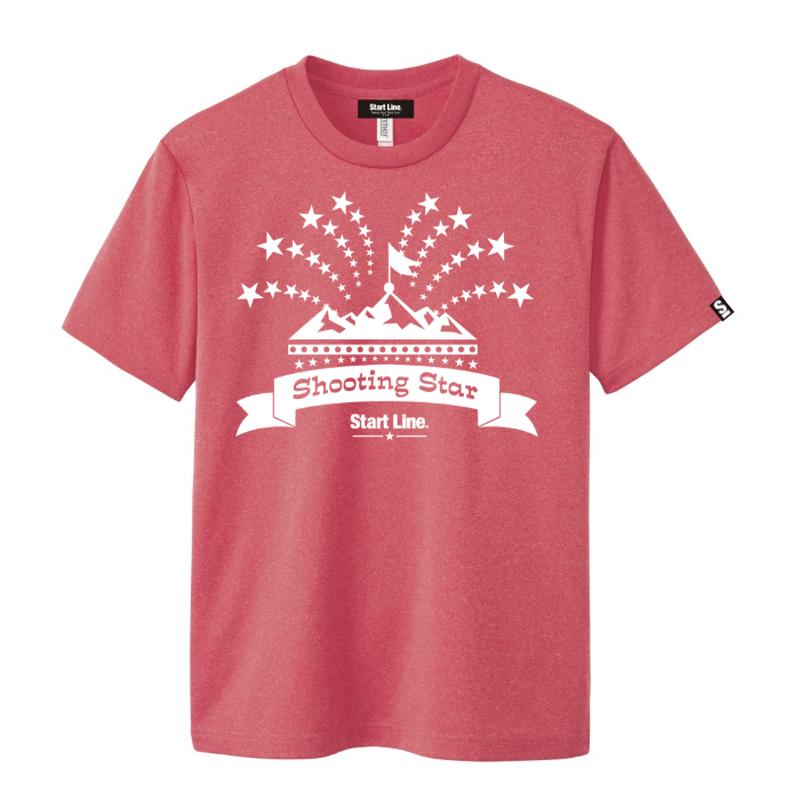 【残り2点】Shooting Star T-shirt/シューティングスターTシャツ(Red/レッド)