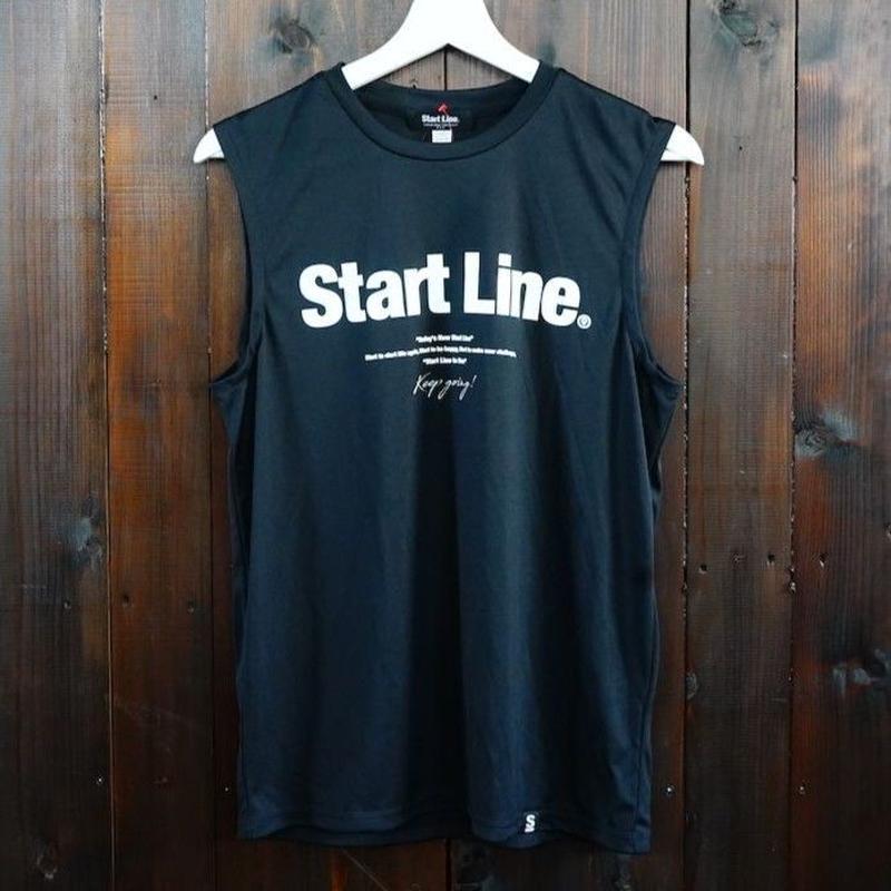 【SS残り2点】World Marathon City No-sleeve/ワールドマラソンシティーノースリ(Black/ブラック)