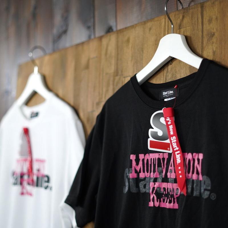 【M残り2点】MOTIVATION KEEP Round T-shirt/モチベーションキープTシャツ (Black/ブラック)