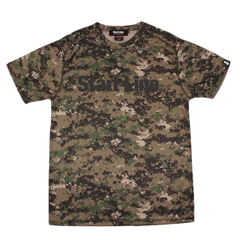 Camo  Active T-shirt/カモアクティブTシャツ(PixelCamo/ピクセルカモ)