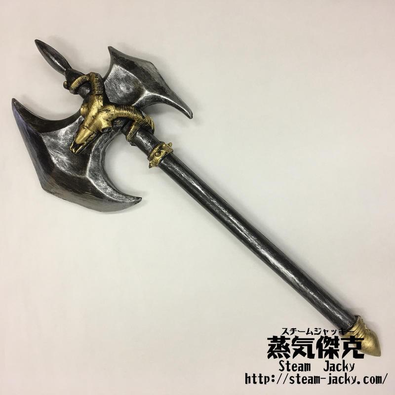 【LARP】バトルアックス 蛮族風戦斧 ポリウレタン材質