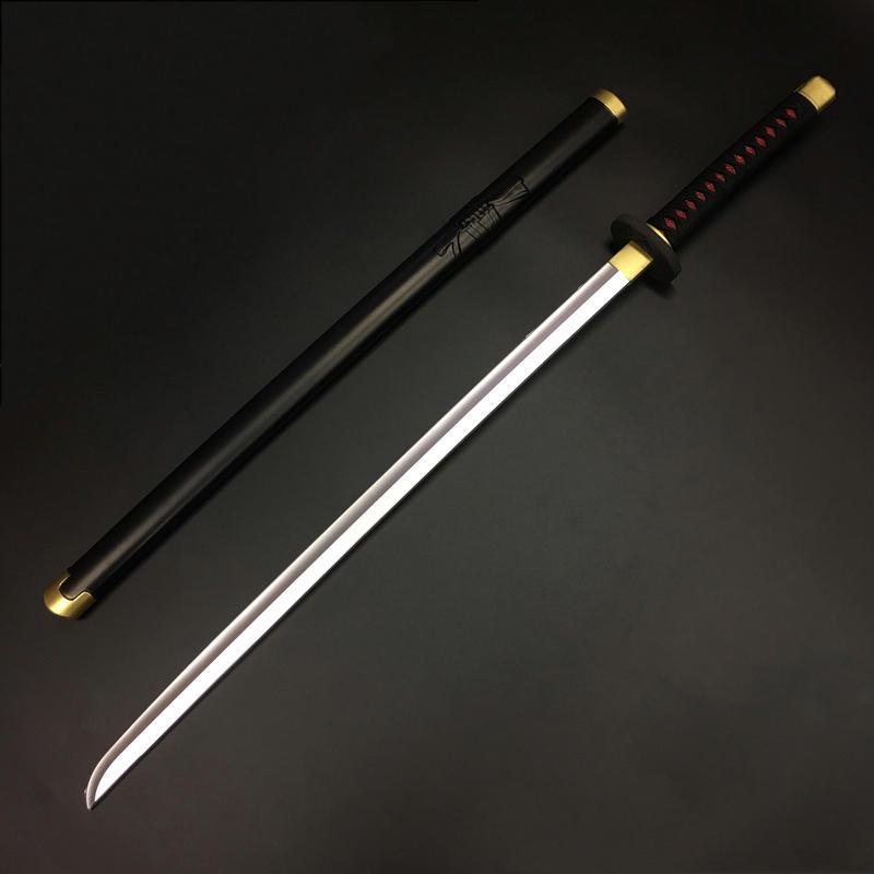 【超軽量】日本刀 黒 鞘付き オリジナル創作素材 PU製品