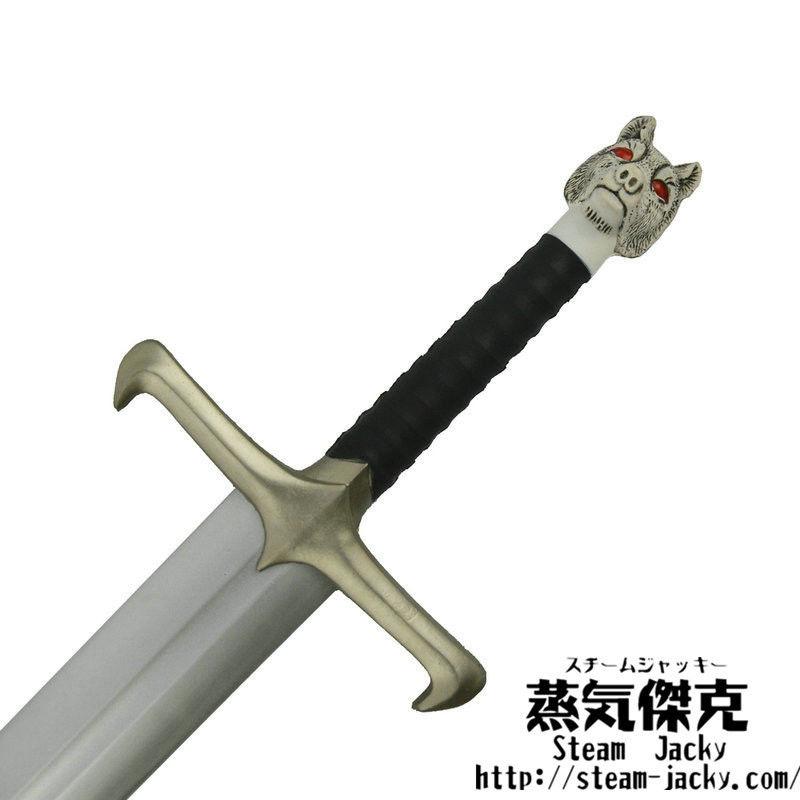 【111cm】狼のロングソード Wolf Long Sword ポリウレタン材質 大人サイズ 安全 コスプレ LARP