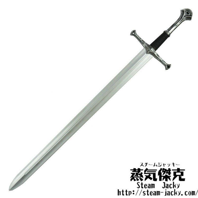 【111cm】ロングソード Long Sword ポリウレタン材質 大人サイズ 安全 コスプレ LARP