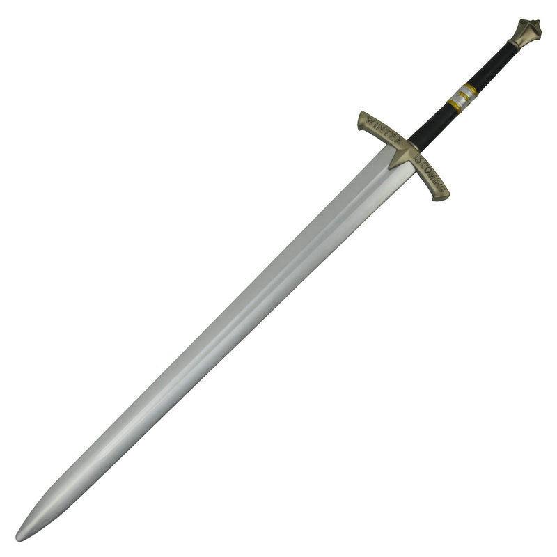 【117cm】両手剣 ロングソード Long Sword ポリウレタン材質 大人サイズ 安全 コスプレ LARP