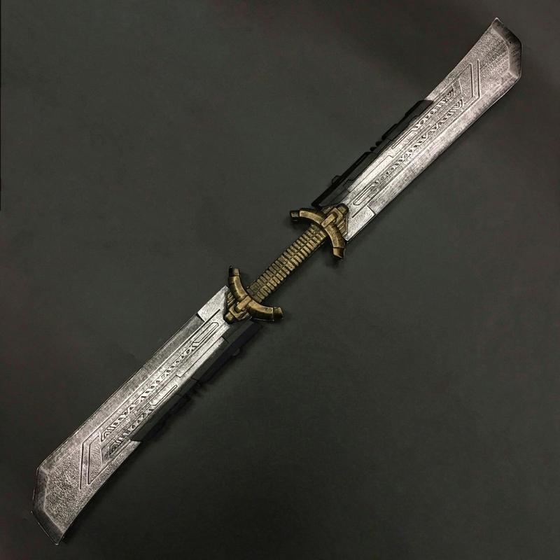 双刃の大剣