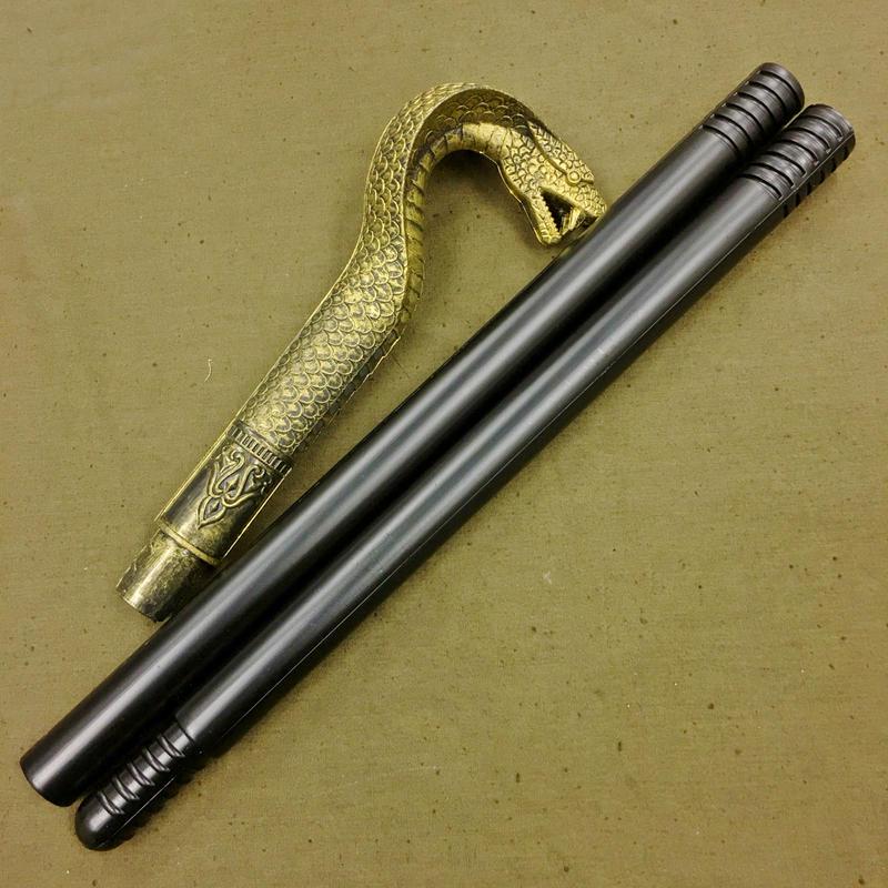 【蛇の杖】プラスチック製 ダミー おもちゃ 大人サイズ