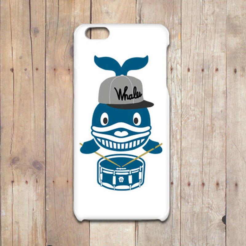 クジラのドラマー iPhoneケース