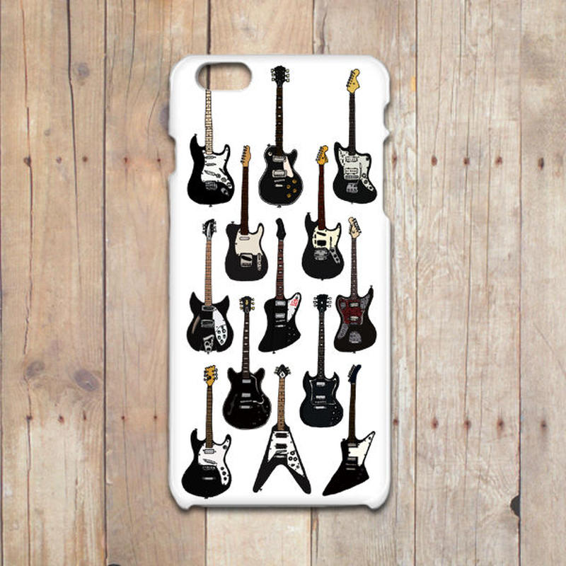 BLACK GUITARS       iPhoneX/8/7/6/6S/5/5Sケース