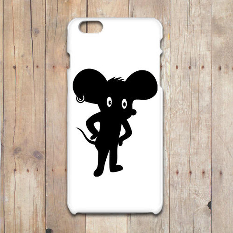PUNKY MOUSE iPhone X/8/7/6/6s/5/5sケース