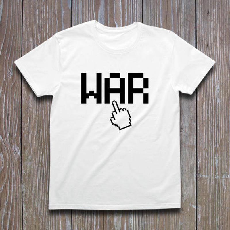 FUCK WAR Tシャツ