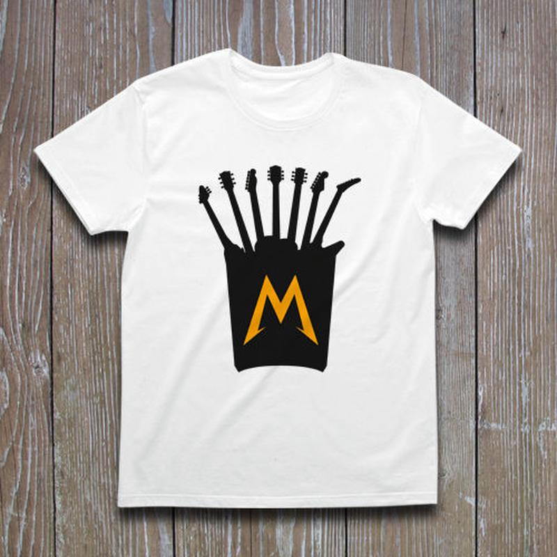 METAL GUITAR POTATO Tシャツ