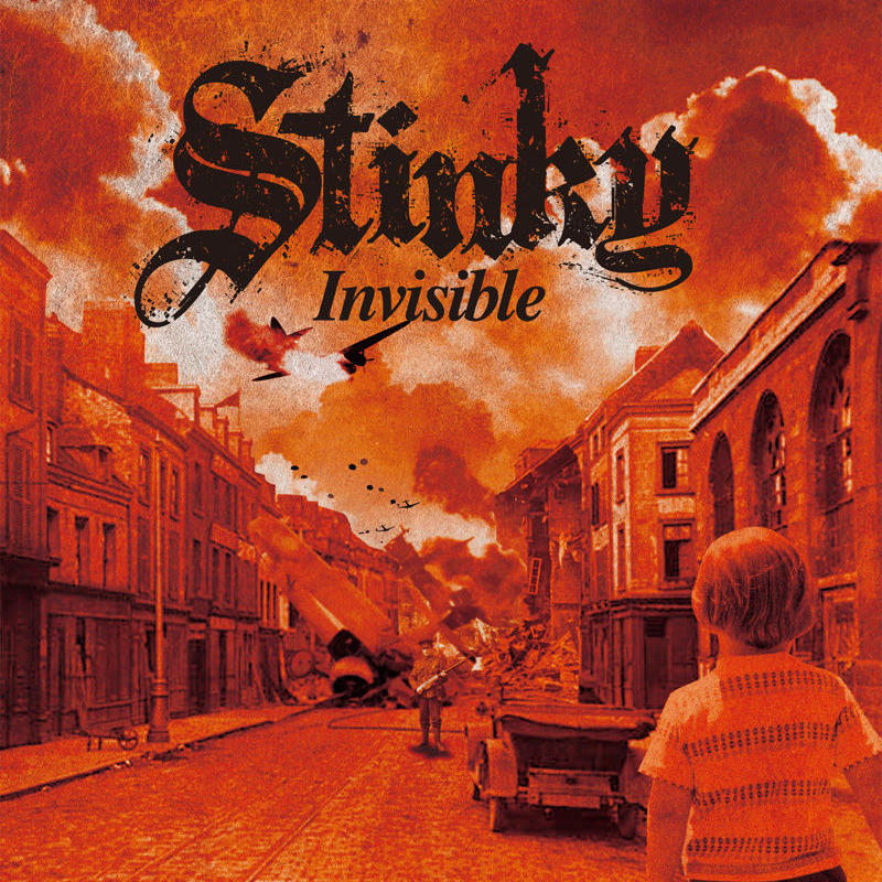 """STINKY 2nd Album """"Invisible"""""""