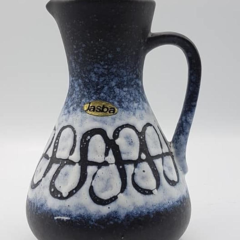 1970's Jasba製 ブルー×ホワイト fat lavaベース