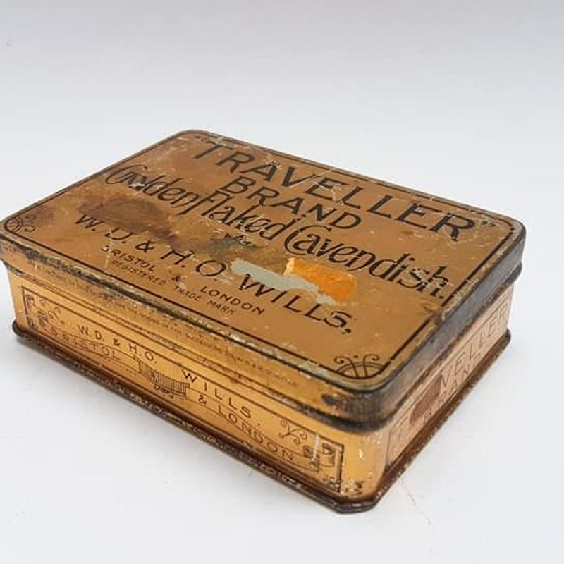 1930's アンティーク タバコ缶  BD005